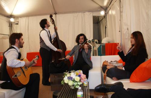 The Barnes Foundation: Jazz Band: Barnes Foundationg Grand Opening Gala: The Barnes Museum: Philadelphia: Philadelphia's historic Museum Row: Roberts Event Group: Event Entertainment: Jazz Ensemble: Jazz Barnes Foundation: Musical Entertainment