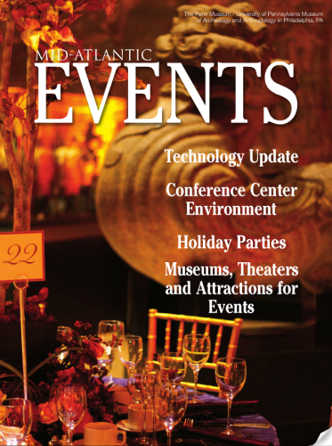 Mid-Atlantic Events Magazine: Mid-Atlantic Events Magazine Cover: Roberts Event Group Published in Mid-Atlantic Events Magazine: Events Magazine: September/October 2012 Mid-Atlantic Events Magazine