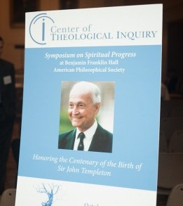 CTI: CTI Poster: Center of Theological Inquiry: Honoring: Center of Theological Inquiry Event Honor
