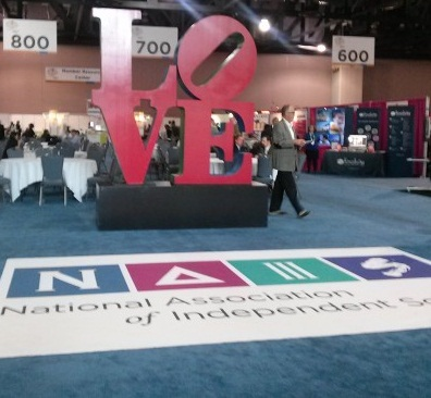 NAIS Entrance: Entrance: Event Entrance: NAIS: Corporate Event: Philadelphia Corporate event